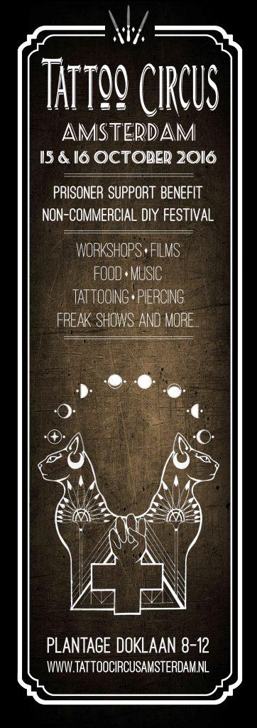 tattoo circus amsterdam